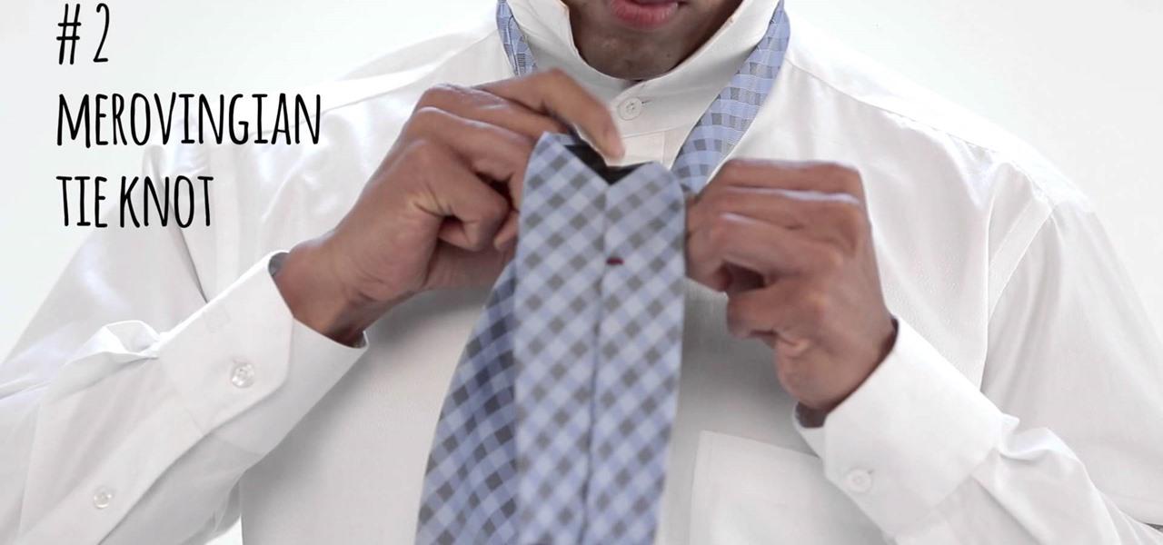 Tie a Tie Knots in Unique Ways