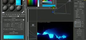 Create a full underwater scene in 3D Studio Max 2010