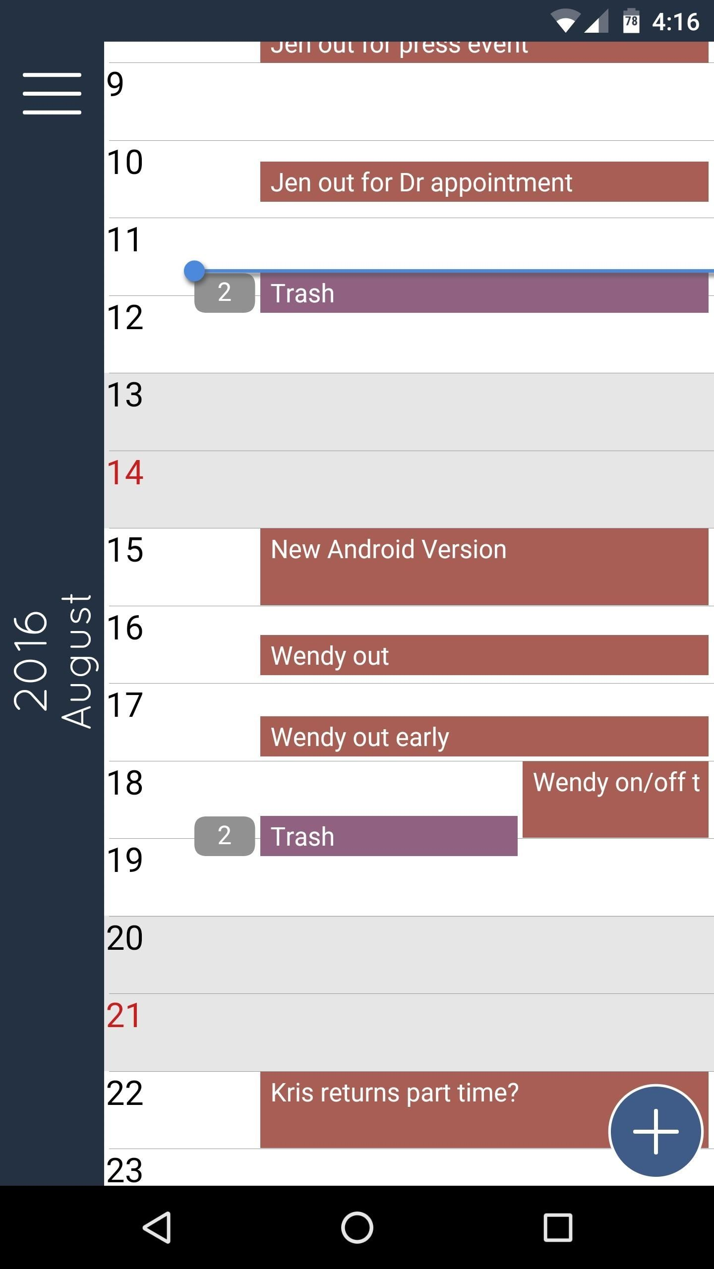 The Best Free Calendar Apps for Android
