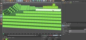 Build a Minecraft landscape in Cinema 4D