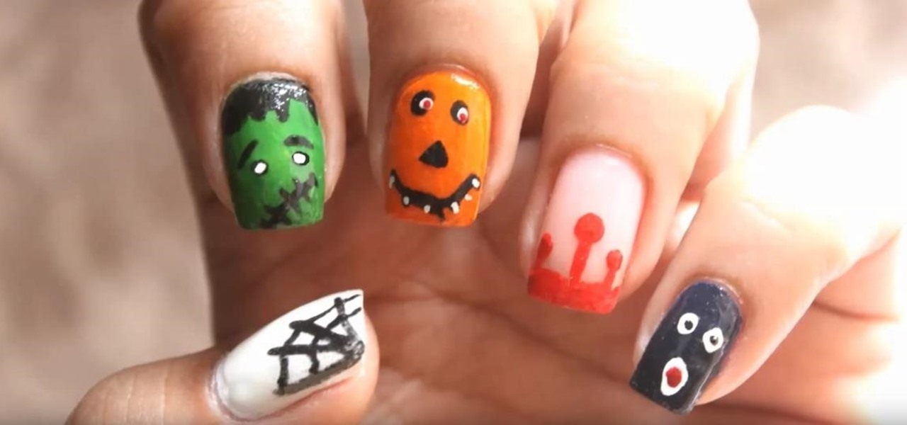 Do Halloween Nails Without Tools!