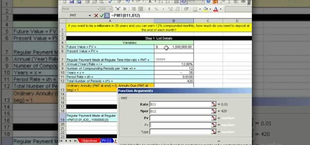 Annuity Calculator Formulas