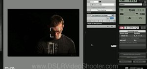 Use Canon EOS 7D remote shooting software on a laptop