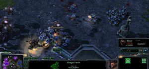Build an effectively composed and arranged Terran army of units in StarCraft 2