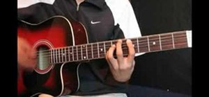 "Play ""Womanizer"" by Britney Spears on guitar"
