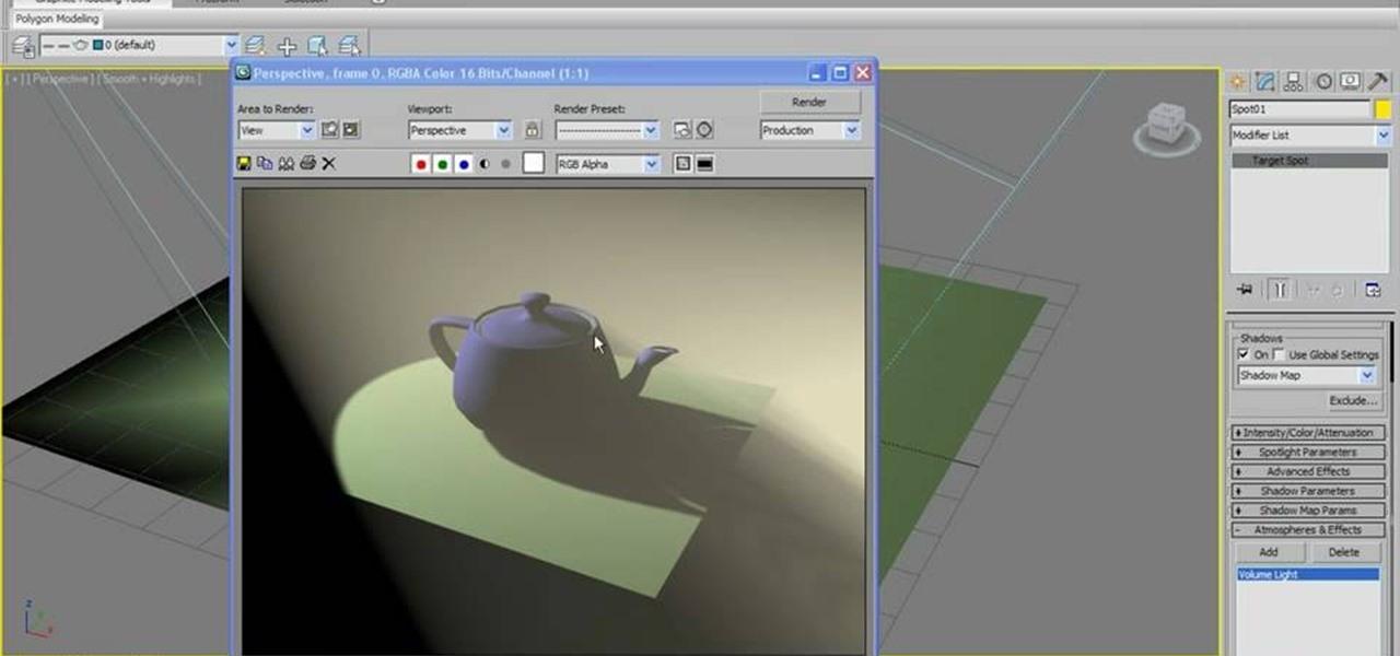 how to create underwater lighting in 3d studio max « autodesk 3ds max, Reel Combo