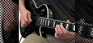 Perform pull-offs correctly on an electric guitar