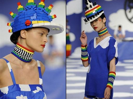 LEGO Fashion Hits the Runway