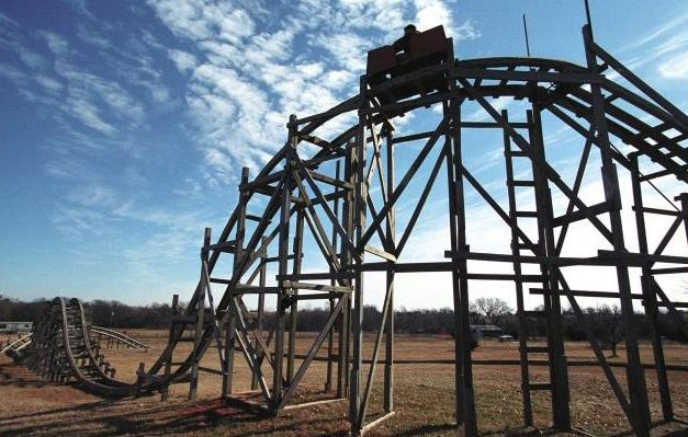R-i-c-k-e-t-y Backyard Roller Coaster « Outdoor Games