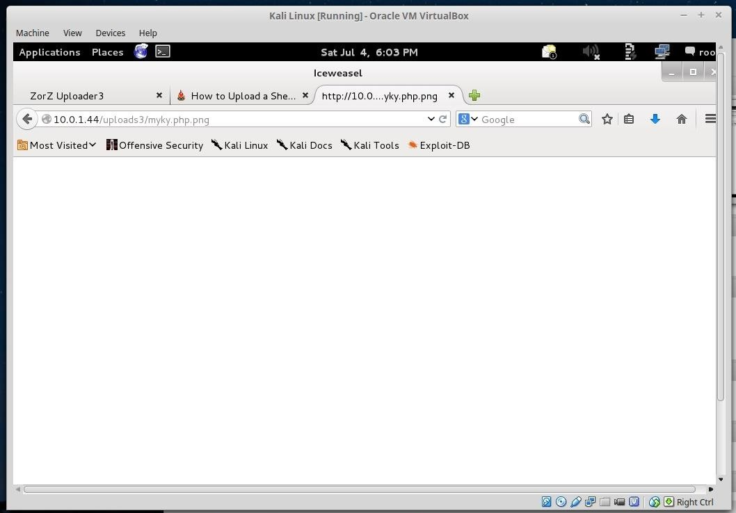 How to Upload a Shell to a Web Server and Get Root (RFI): Part 1