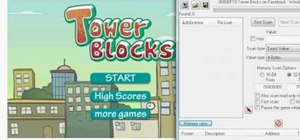 Hack Tower Blocks on Facebook using Cheat Engine 5.5