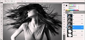 Create an alpha channel in Adobe Photoshop CS5
