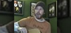 """Play """"Rehab"""" by Amy Winehouse on acoustic guitar"""