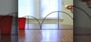 Do trick shots in beer pong