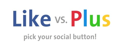 Duking it out - Like vs Plus buttons