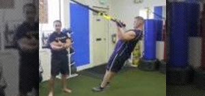 Do the four best bicep and tricep exercises on the TRX Suspension Training