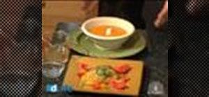 Cook a butternut squash soup