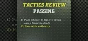 Pass effectively in cross country