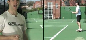 Do the tennis footwork split step