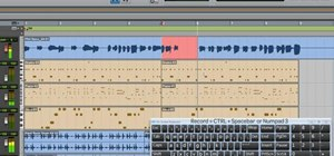 Record an audio track with Pro Tools