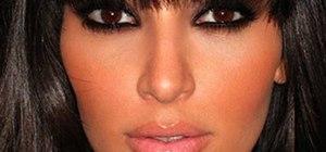 Get Kim Kardashian's bronze, smoky eyes