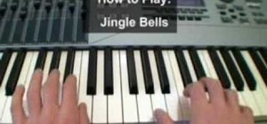 "Play ""Jingle Bells"" on a keyboard instrument"