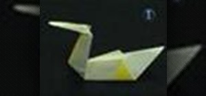 Origami a super simple swan
