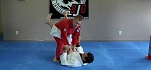 Do a Jiu Jitsu crab walk over escape