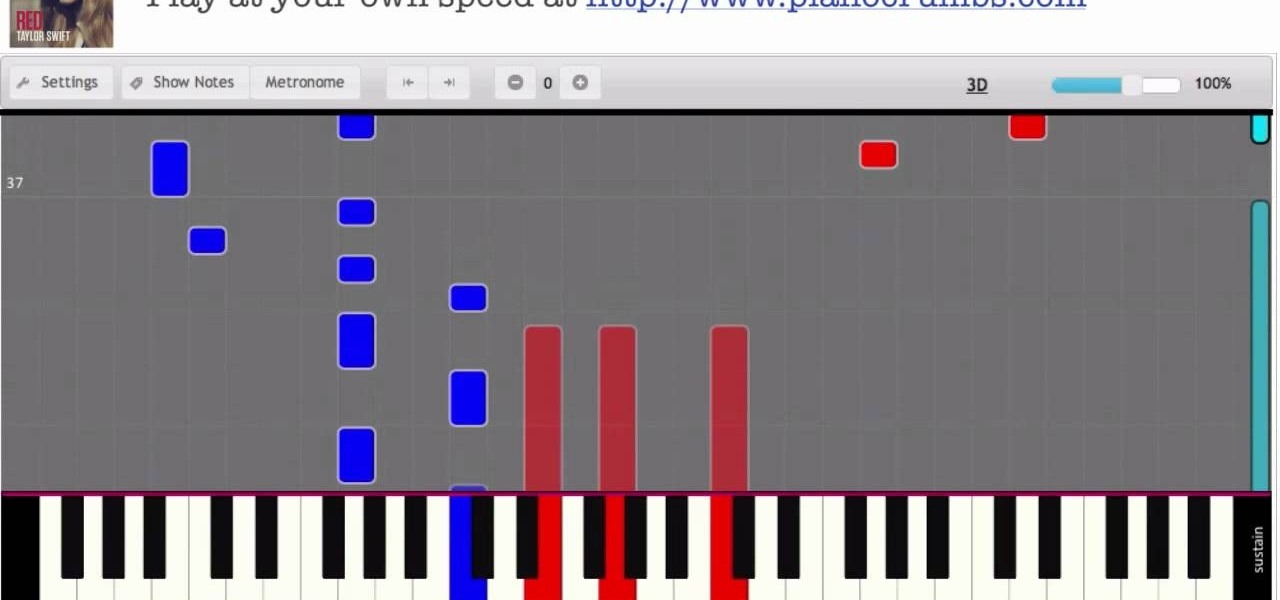 How To Play Begin Again By Taylor Swift On Piano Interactive