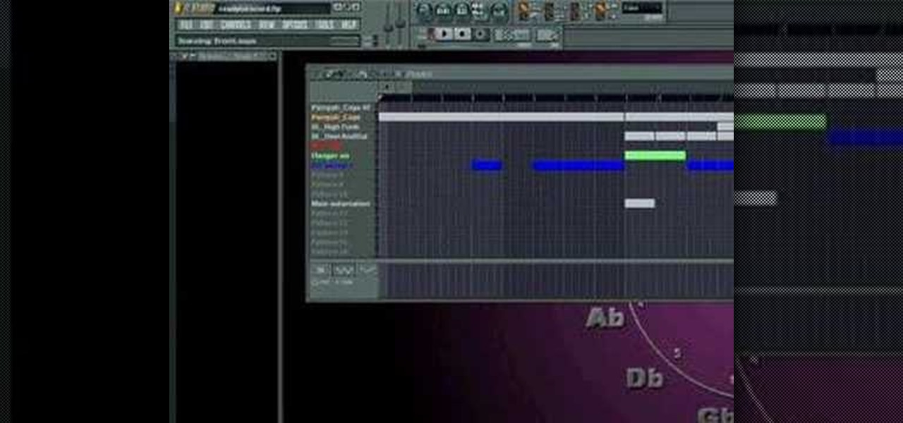 how to change pitch of a sample in fl studio