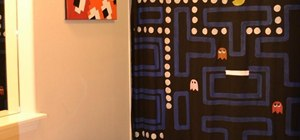 How to Make an Amazing Pac-Man Shower Curtain!