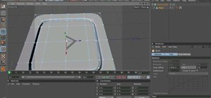 Create a button with mesh flow modeling in Cinema 4D