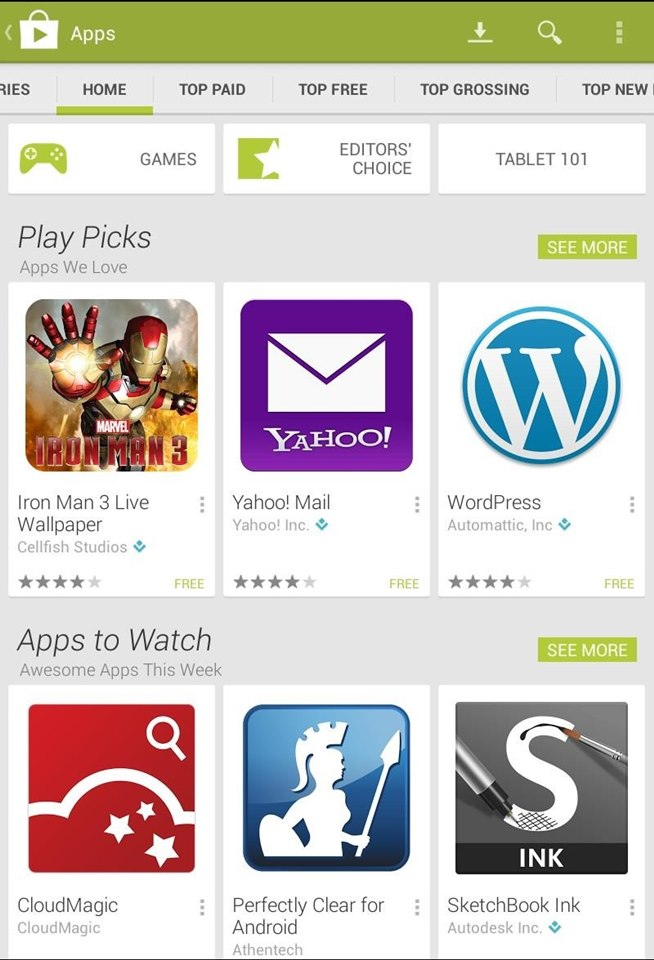 How to Get Google's Latest Play Store Redesign on Your Nexus 7 Tablet