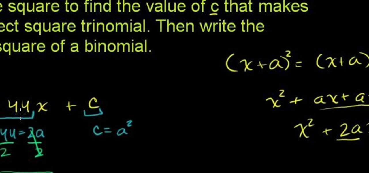 How to Solve quadratic equation word problems in algebra