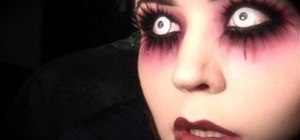 Create a Blind Mag makeup look for Halloween
