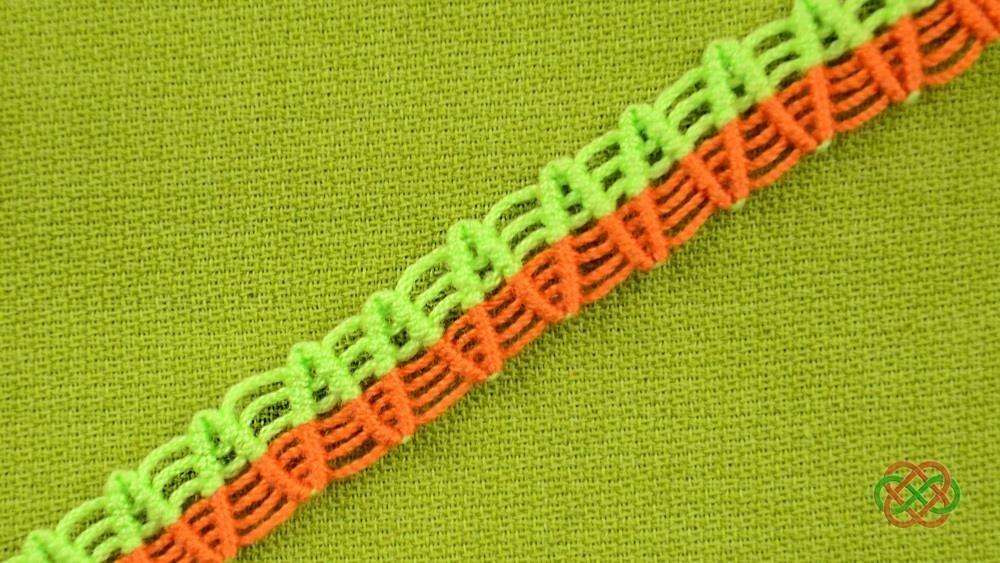 How to Make a ZigZag Macrame Bracelet