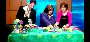 Make spring flower pot cupcakes with Cake 'n Crumbs