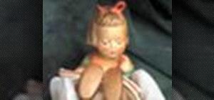 Clean a hummel figurine