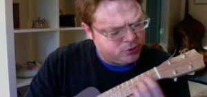 "Solo over Carlos Santana's ""Samba Pa Ti"" on ukulele"