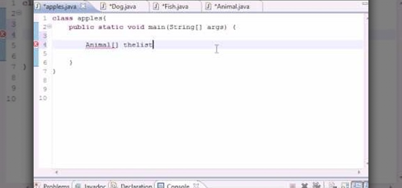 Java Tutorial/Hello World!