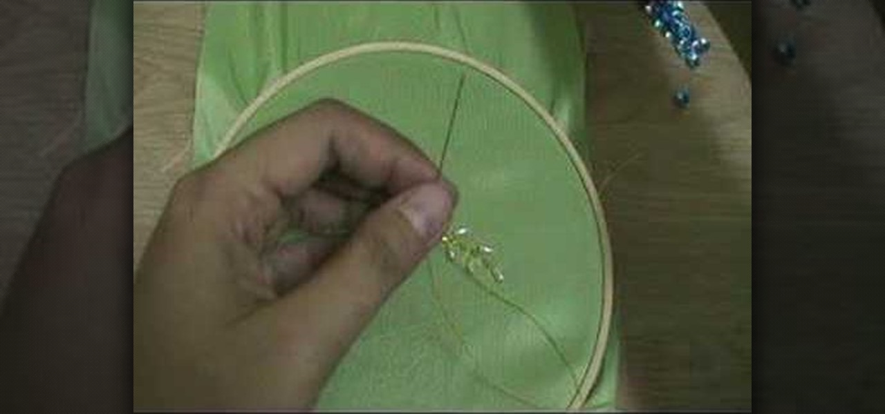 How To Embroider With Beads And Sequins 171 Sewing