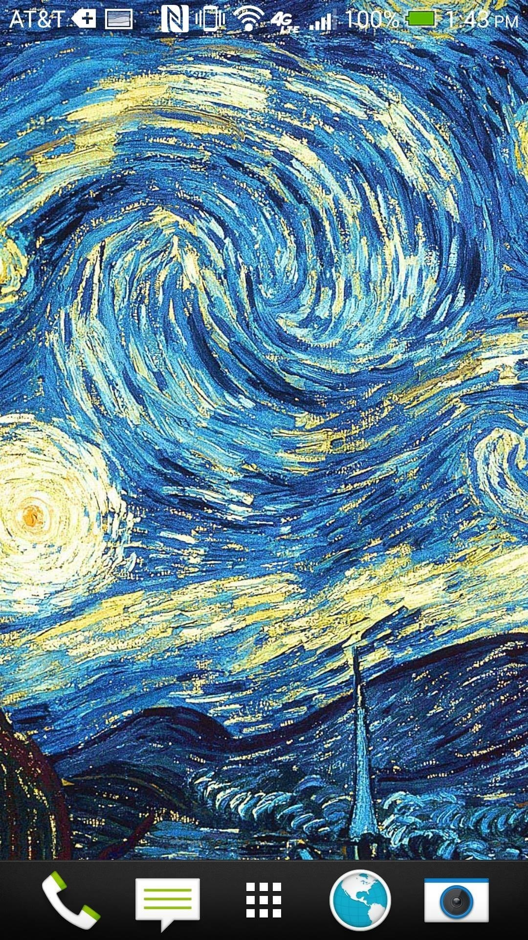 Turn Your HTC One into a Living Art Gallery with New Wallpapers from Famous Painters Every Day