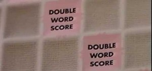 Play the classic word board game Scrabble
