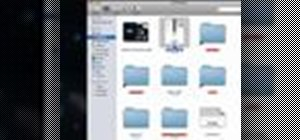 Zip, archive and compress files on a Mac OS X computer
