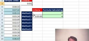 Count times exceeding 5 minutes in Microsoft Excel