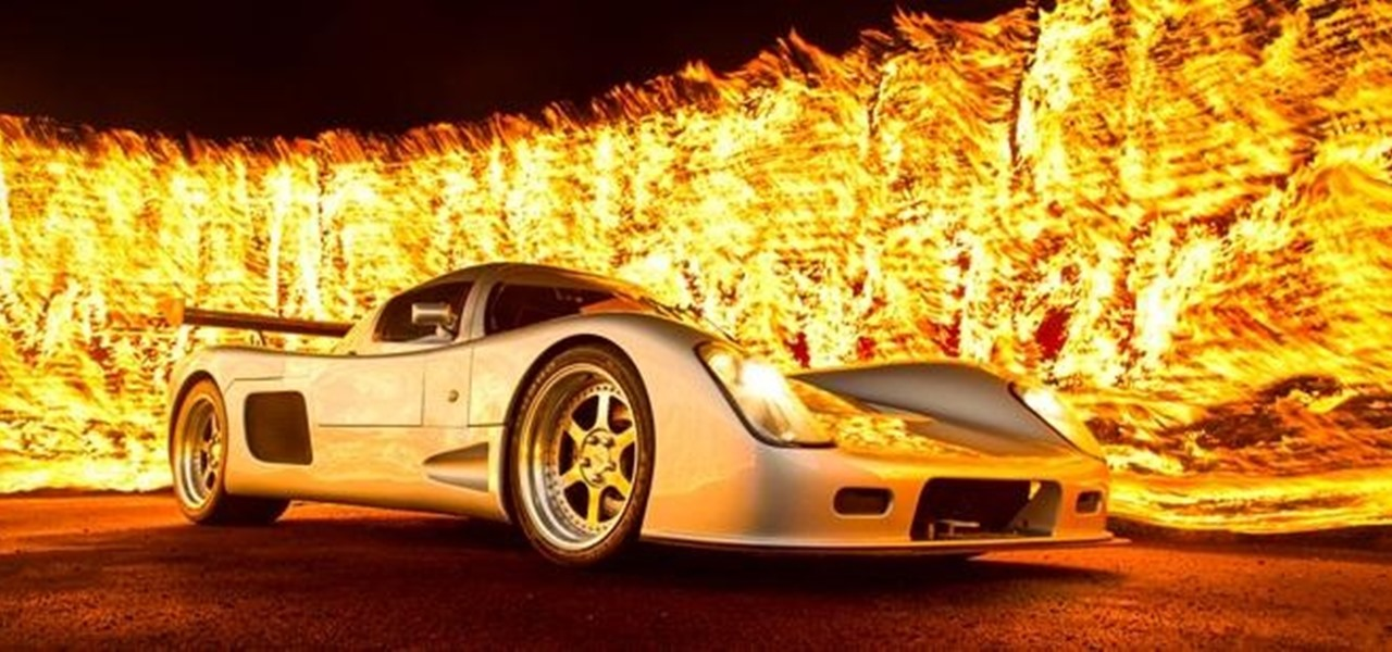 How to Create a Badass Wall of Flames!