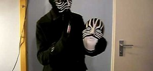 Make your own Masked Magician mask