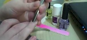 Take care of artificial nails