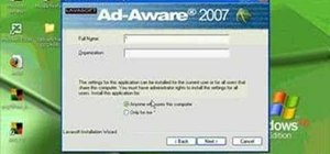 Remove annoying spyware on your PC in Windows XP