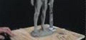 Sculpt In Clay  - Sculpting the Feet 3